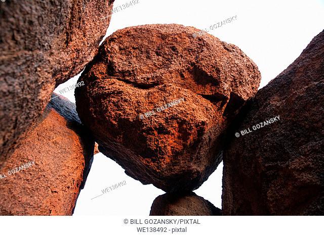 Rock Formations near Sossusvlei National Park - Namib-Naukluft National Park, Namibia, Africa