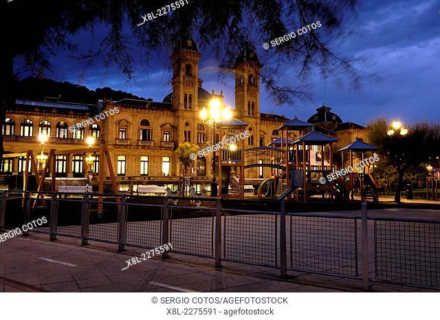 City of San Sebatian, from the Alderdi Eder Park