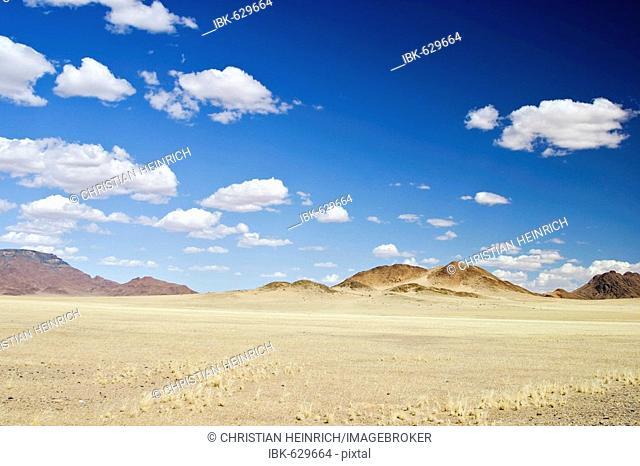 Mountains at the rim of the Namib desert, Namibia, Africa