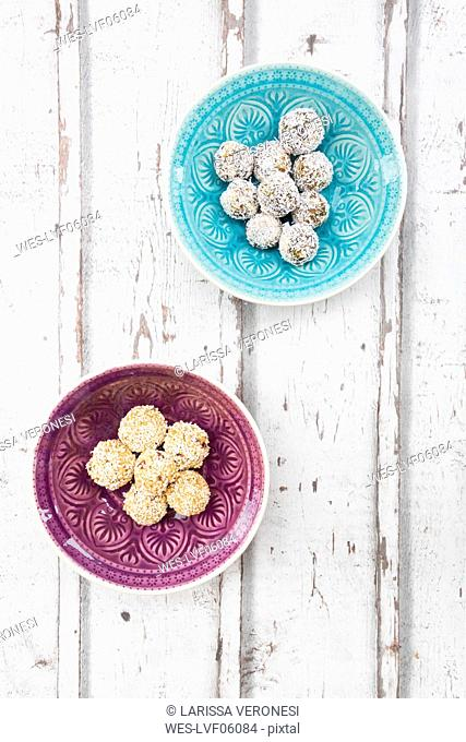Two sorts of Bliss Balls