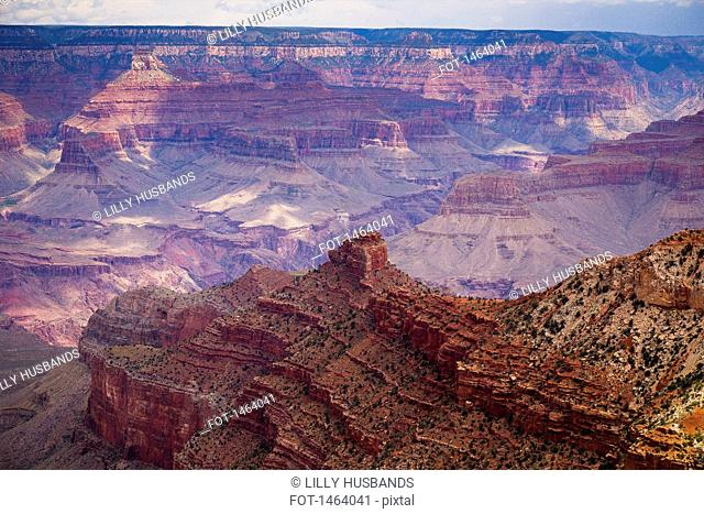 High angle view of Grand Canyon National Park