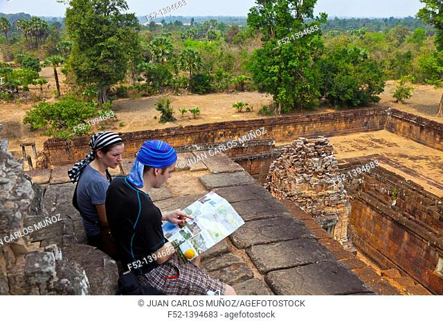 Pre Rup Temple  Angkor Siem Reap town, Siem Reap province  Cambodia, Asia