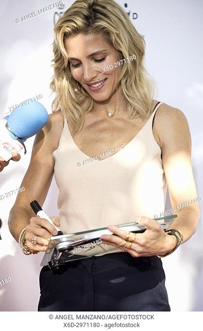 MADRID, SPAIN - SEPTEMBER 23: Actress Elsa Pataky attends the 'Glamour Sport Summit' photocall at Residencia de Estudiantes on September 23, 2017 in Madrid
