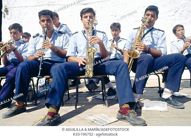 Band. Huebro. Almería province. Spain