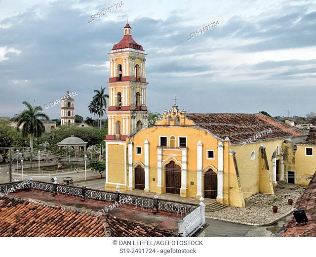 Church, Remedios city, Cuba
