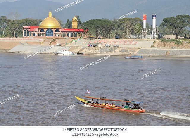 Sop Ruak (Thailand): the Mekong River, between Thailand and Laos