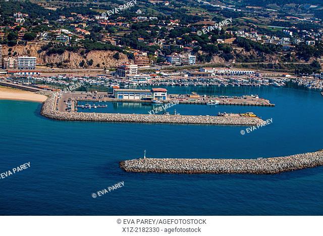 Port of Arenys de Mar, in Maresme