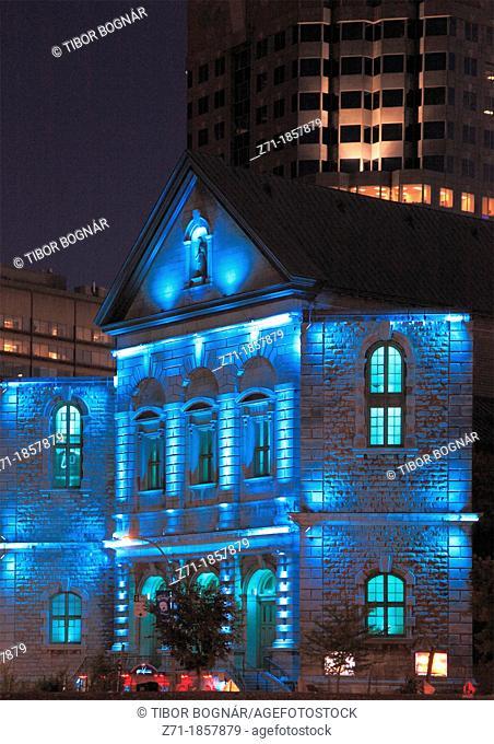 Canada, Quebec, Montreal, rue de Bleury, historic architecture