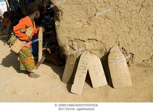 Koranic school, Djenné. Mopti region, Niger Inland Delta, Mali