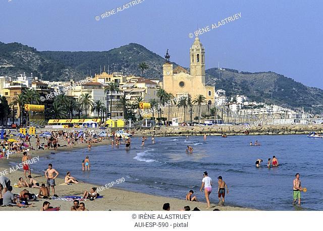 Spain - Costa Daurada - Sitges - Passeig de la Ribeira