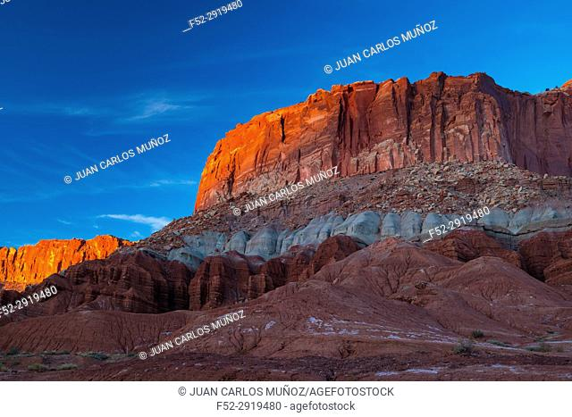 Capitol Reef National Park, Utah State Route 24, Utah, Usa, North America, America