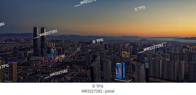 Panorama of Kunming;Kunming;Yunnan;China