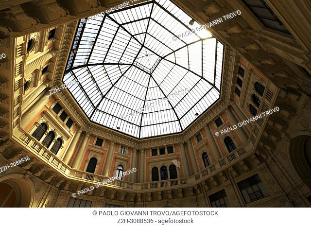 Galleria Geometrica, Salone Mercato, Pavia, Lombardy, Italy
