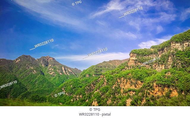 Wang Wu Shan;Jiyuan; Henan; China