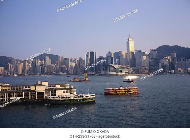Star Ferry Pier and Hong Kong skyline, Hong Kong
