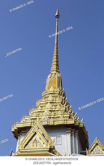 Bangkok, Thailand. Wat Traimit, Temple of the Golden Buddha