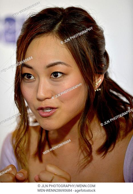 'Suicide Squad' Wynwood Block Party and Mural Reveal in Miami, Florida Featuring: Karen Fukuhara Where: Miami, Florida, United States When: 26 Jul 2016 Credit:...