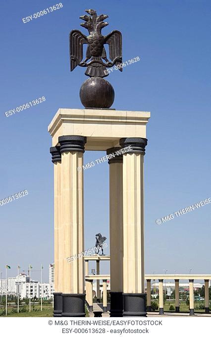 National Museum, Five heads eagle, Ashgabat, Turkmenistan