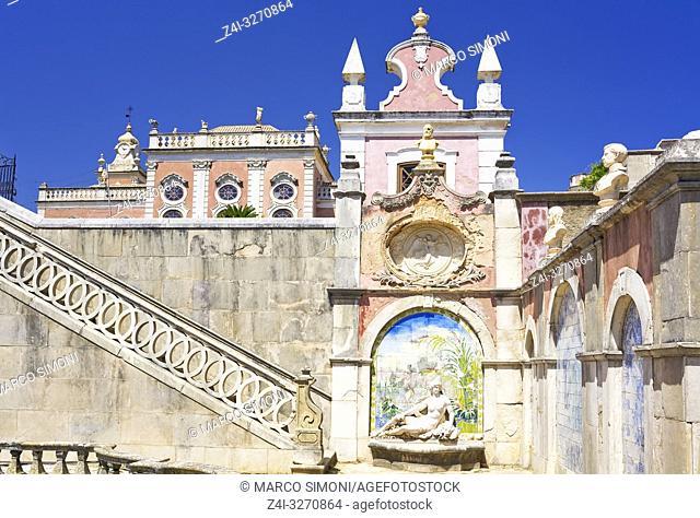 Estoi Palace, Estoi, Algarve, Portugal, Europe