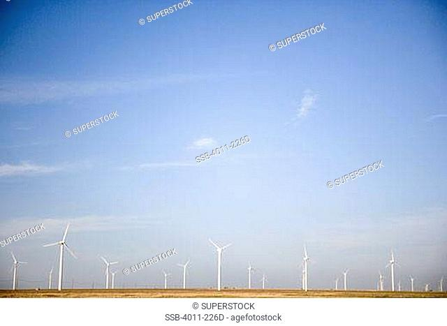 Wind turbines, Stock Photo, Picture And Rights Managed Image