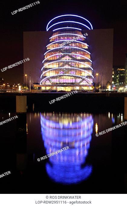 Republic of Ireland, Dublin City, Dublin. The Convention Centre Dublin The CCD, Ireland's first purpose-built convention centre