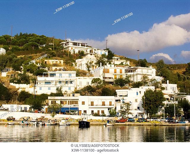 europe, greece, sporades, island of skyros, linaria village