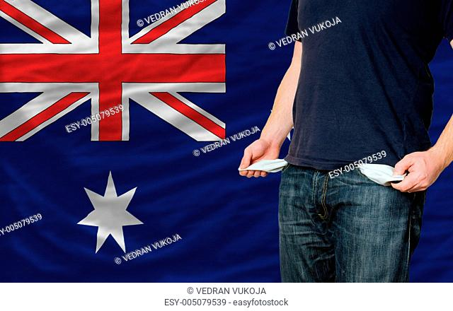 recession impact on young man and society in australia