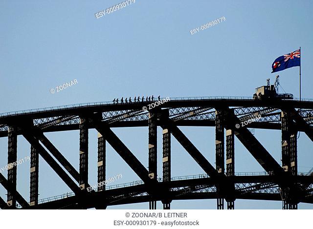 Harbour Bridge in Sydney, Australia