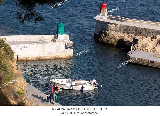 Port of Calpe, Puerto Les Basetes, Alicante, Valencia, Spain