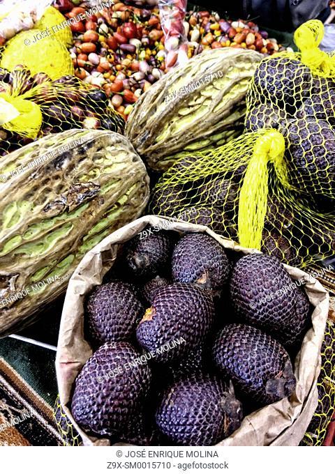 Fruits of the Peruvian jungle