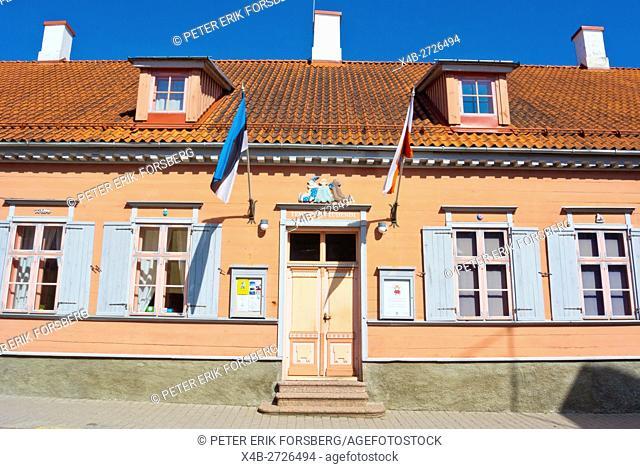 Toy museum, old town, Tartu, Estonia, Baltic States, Europe