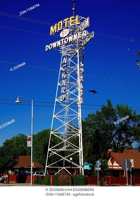 Downtowner Motel,Flagstaff,Arizona,Route 66