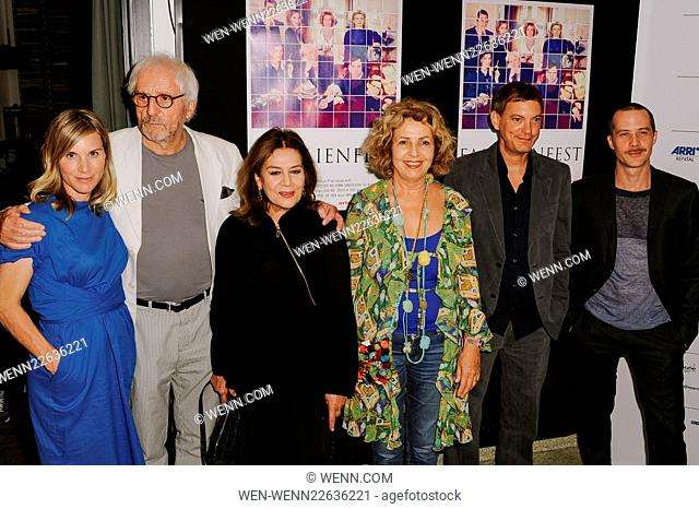 Filmfest Muenchen 2015 - Familienfest - Photocall at Rio Filmpalast Featuring: Nele Mueller-Stöfen, Günther Maria Halmer, Hannelore Elsner, Michaela May