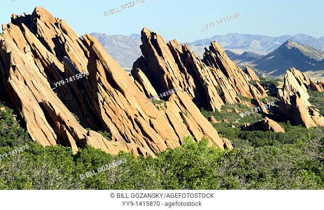 Red rock ridgeline - Roxborough State Park - Littleton, Colorado