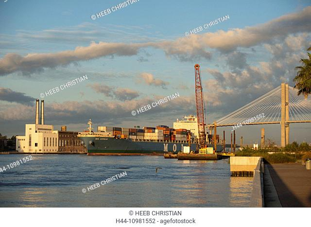 Savannah city in Georgia