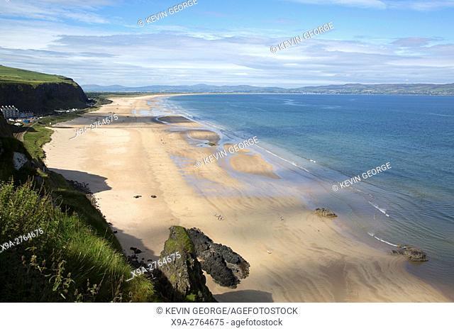 Downhill Strand Beach, Northern Ireland, UK