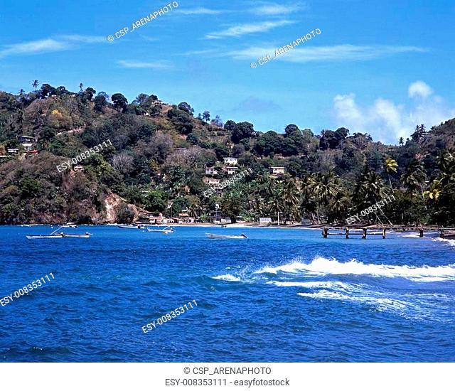 Coastline, Speyside, Tobago