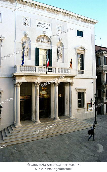 La Fenice theatre, built in 1792. Venice, Italy