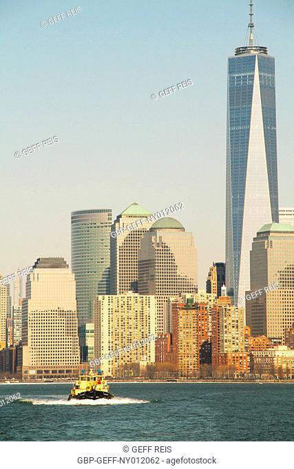 Hudson River, Manhattan, New York City, United States