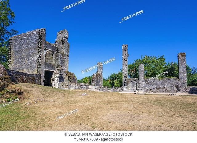 Berry Pomeroy Castle, Devon, England, United Kingdom, Europe