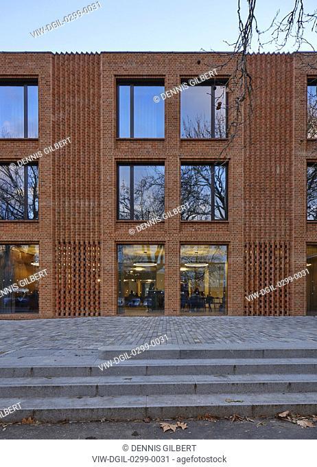 X. Newnham College, Cambridge, Cambridge, United Kingdom. Architect: Walters and Cohen Ltd, 2018