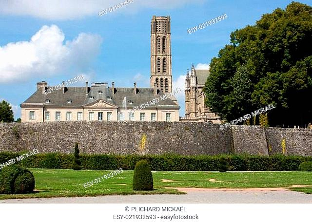 St. Etienne cathedral and museum of Limoges, France