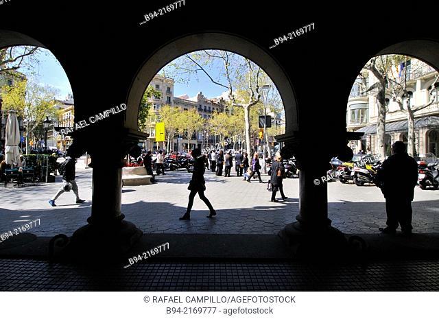 Casa Marfa. Modernist. 1901-1905. Architect Manuel Comas i Thos. Passeig de Gracia 66. Barcelona. Catalonia. Spain