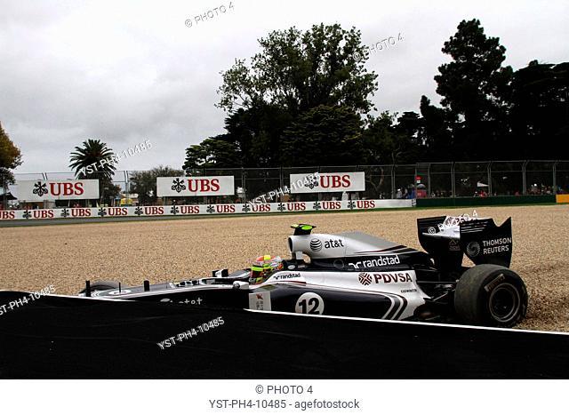 Race, Pastor Maldonado, Saturday Practice, Australian Grand Prix, Melbourne, Australia