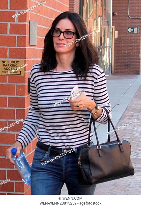 Courteney Cox spotted out and about in Beverly Hills Featuring: Courteney Cox Where: Beverly Hills, California, United States When: 02 May 2016 Credit: WENN