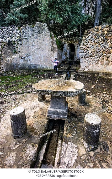 fuente de Es Rafal, Esporlas, Majorca, Balearic Islands, Spain