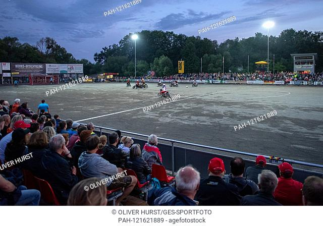 Feature, overview. GES / Motoball / European Championship, Final: Germany - Russia, 22.06.2019. Sport: Motoball: Team vs