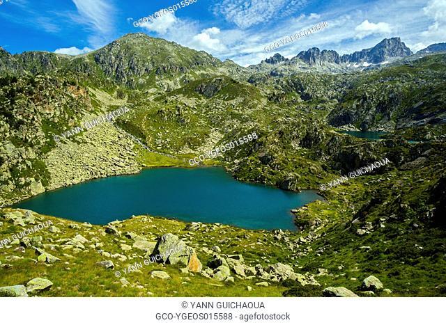 Lake Of La Glere, Hautes Pyrenees, France
