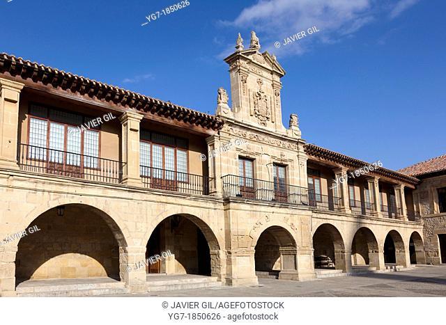 City hall of Santo Domingo de la Calzada, La Rioja, Spain
