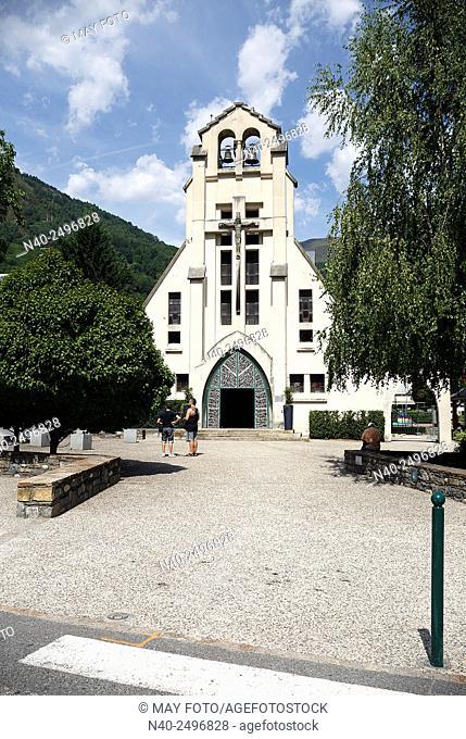 Saint Bertrand de Comminges church, Saint Lary, France